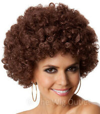 Party Afro (Brown) Costume Wig.