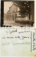 1933 MOSTRE D'ARTE Pittore Ugo GALETTI Chiesa delle Grazie *Foto CON AUTOGRAFO