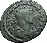 GALERIUS as Caesar with spear & globe Authentic Ancient 293AD Roman Coin i79405