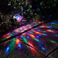 LED Solare Faretto Carnevale cambia colore luce giardino paletto di proiezione Movin