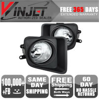 Fit For 2014 Toyota Tundra Clear Bumper Clear Fog Lights Lamps Switch+Wiring Kit