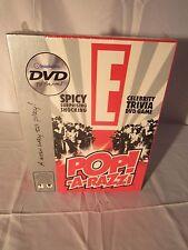 Board Game Pop-A-Razzi DVD Celebrity Trivia NEW E! Entertainment