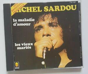 RARE CD TREMA 1987 ! ♦ MICHEL SARDOU : LA MALADIE D'AMOUR  ♦