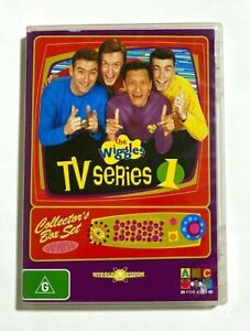 The Wiggles TV Series 1 One: Collector's Box Set - ABC Kids - RARE 4-DVD Set