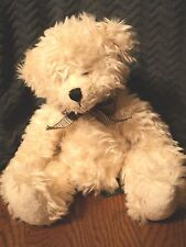Russ Ainsley Cream Bear with Bow.
