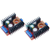 2PCS DC Converter 100W Boost Power Supply Module 10-32V Step up to60-97V Voltage