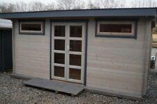 Gartenhaus 28mm  500x300 cm 5x3 m Gerätehaus Holzhaus Blockhaus ALL IN