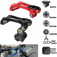 Bike Extension Computer Out Front Mount Holder Alloy for Garmin Bryton Edge