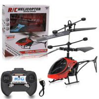 Mini RC Infrared Induction Remote Control RC Toy 2CH Gyro Helicopter RC Drone US