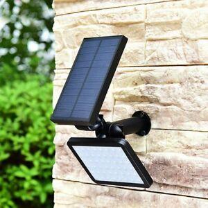 Lámpara de Energía Solar de 48 leds, Luz de Calle de Seguridad ajustable