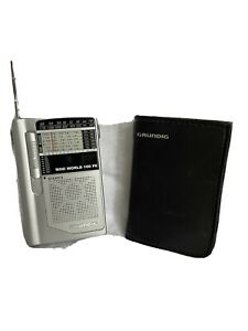 GRUNDIG Mini World 100 PE , Shortwave 1-6 Radio, great condition!