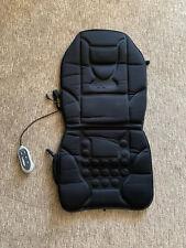 ROADMASTER Car Seat Cushion Back Massager and Seat Warmer Black