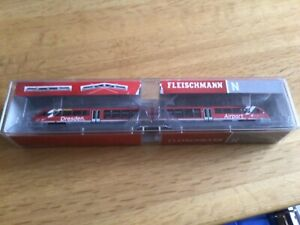 N Gauge Fleischmann 742204 - Diesel Multiple Unit Rh 642, DB AG Dresden Airport