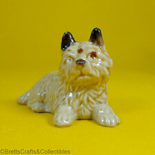 Wade Whimsies (1969/82) Dogs & Puppies Series (1969/Set #2)  Cairn Puppy Sitting