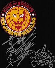 Jushin Liger Signed 8x10 Photo w Mask Sketch BAS COA New Japan Pro Wrestling WWE
