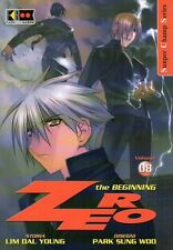 FLASHBOOK MANGA ZERO THE BEGINNING VOLUME 08