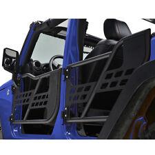 07-16 Jeep Wrangler JK Rock Crawler Body 4x4 Armor Front+Rear Tubular 4 Door Set