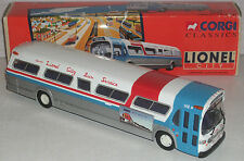 "Corgi Lionel City Bus Service Fishbowl Bus 9.5"" 1/50 New in Box"