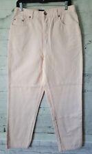 Bill Blass Women's Jeans Easy Fit Short Length Size 10 Light Blush 30x29 NEW NWT