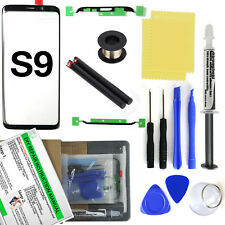 Samsung Galaxy S9 G960 Black Glass Lens Screen Replacement Loca UV Glue Tool