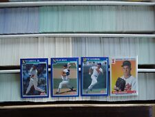 1991 Score Baseball - You Pick Any 30 Cards to Complete Your Set - Stars Rookies
