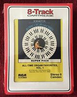 Bob Ralston NEW SEALED 8 Track Tape ~ All-Time Organ Favorites, Vol. 1 RCA 1972