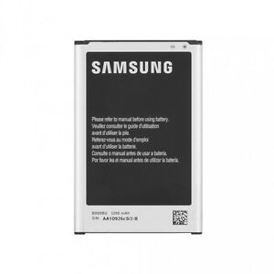 NEW OEM Samsung Note 3 Cell Phone Battery B800BU, 3200mAh, 3.8V Li-ion, 12.16 Wh