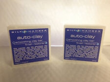 2 X Bilt Hamber Auto Arcilla Suave autoclay Detalle coche clay Bar 200g