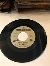 KANSAS DUST IN THE WIND / POINT OF NO RETURN 45 RECORD