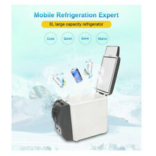 Car Refrigerator Camping Fridge Cooler Portable Travel Electric Mini Freezer 6L