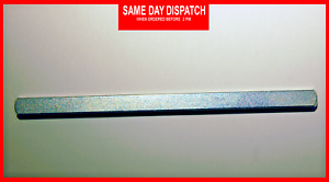 7mm Door Spindle Plain Bar Replacement for Handles and UPVC Window 100 mm