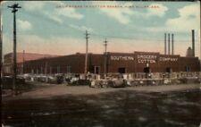 Pine Bluff Ar Cotton Scene Grocery c1910 Postcard jrf