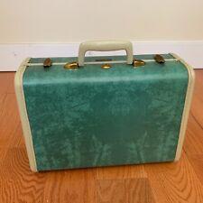 Samsonite Shwayder Bros. Denver Vintage Green Suitcase Carry On! Excellent!