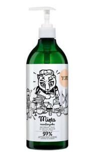 YOPE Dishwashing liquid, Mint / Mandarin, 750ml