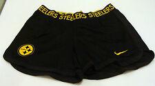 Pittsburgh Steelers NFL Ultimate Mesh Shorts Football Ladies Women Dri Fit S