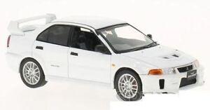 WHITEBOX 214 or 216 MITSUBISHI LANCER EVO V diecast model cars silver white 1:43