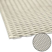 300mm x 200mm x 1mm Titanium Metal Mesh Sheet Perforated Diamond Type Hole Plate