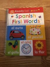 Wipe Clean Ready Set Learn Preschool Spanish First Words School Homeschool  New