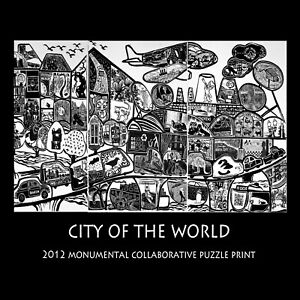 City of the World 2012 Story of the Collaboration 120 International Printmakers