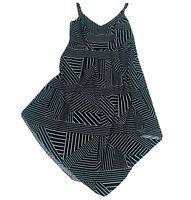 City Chic Black & White A-Line Dress Plus Size Small Women's 16