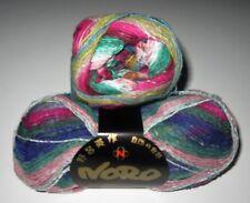 100 gram ball of NORO TAIYO SOCK cotton silk nylon wool knitting yarn color #9