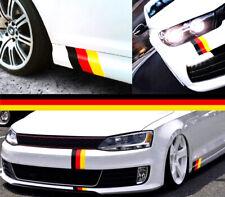 VW BMW Audi German Flag Vinyl Stickers Car Van M3 M4 T4 T5 Golf R Quattro S Line