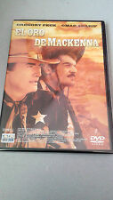 "DVD ""EL ORO DE MACKENNA"" COMO NUEVA GREGORY PECK OMAR SHARIF J. LEE THOMPSON"