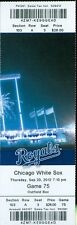 2012 Royals vs White Sox Ticket: Royals walk off on Eric Hosmer's single with tw