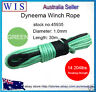 Winch Rope Synthetic Dyneema 10mm x 30m Car Tow Recovery Offroad 4WD Cable-45935