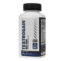 Testrogain RX-100 - 90 Vegetarian Capsules - Testosterone Booster