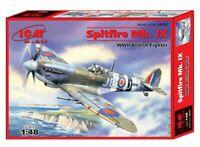 ICM 48061 Spitfire Mk.IX,WWII British Fighter 1/48 scale model kit 200 mm
