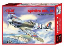 ICM 48061 Spitfire Mk.IX,WWII British Fighter 1/48 scale model kit 200 mm