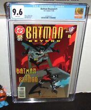 "BATMAN BEYOND #1 DC 1999 FIRST ISSUE ON-GOING SERIES ""BATMAN vs BATMAN"" CGC 9.6"