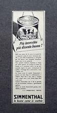 K031 - Advertising Pubblicità - 1953 - SIMMENTHAL , LA BUONA CARNE IN SCATOLA